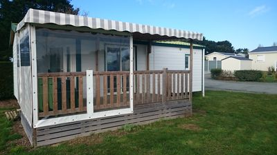 Photo for Camping de l'Auzance - Mobile home 35m² 2 bedrooms with terrace