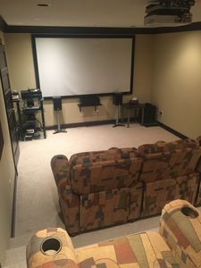 Photo for Full size Theatre room chalet true ski in ski out