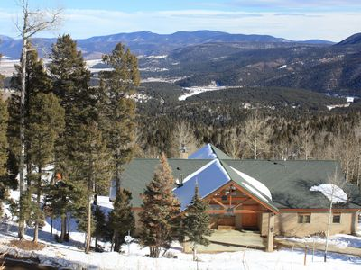 Photo for FOREST Acc 1/8 mi. HUGE Balcony w/views ! Privacy, hot tub, Theater,  4 king,1Qn