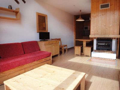 Photo for Surface area : about 60 m². 4th floor. Orientation : South, West. Living room with 2 sofa-beds