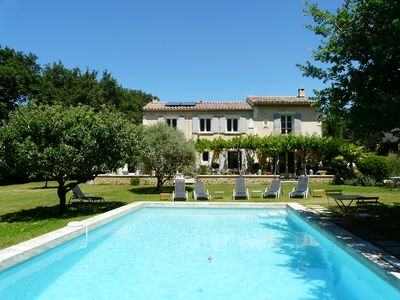 Photo for Magnificent house with splendid view, in the heart of Luberon, in isolated countryside