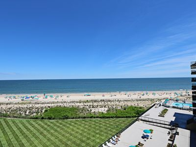 Photo for C709: Updated 1BR Sea Colony Oceanfront Condo! Private Beach, Pools, Tennis & More!