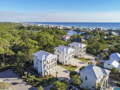 Photo for Stunning 30A Vacation Home w/ Private Pool & Putting Green in Dune Allen Beach!