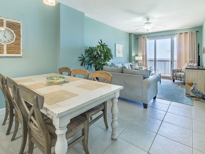 Photo for BeachFRONT! 2 Pools + Hot Tubs☀2 Step Sanitizing Process☀3BR Sunrise Beach #1408