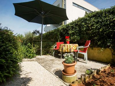 Photo for Holiday apartment with garden and barbecue facilities