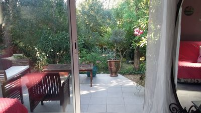 Photo for Independent Maisonette except in the frame greenery at 1 / 2h beaches