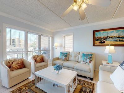 Photo for Partial oceanview condo w/ shared hot tub & pool - close to entertainment!