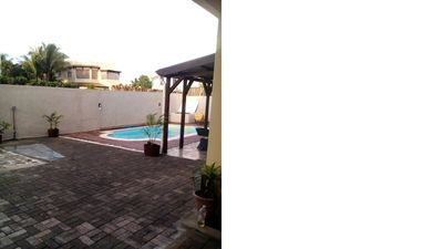 Photo for Luxury villa near Mont Choisy Beach with private pool