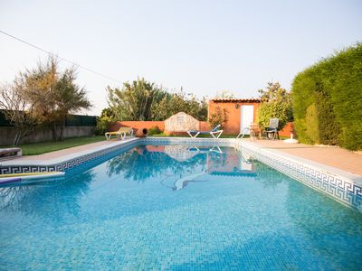 Photo for Lupe Villa, Wifi, Garden, Pool