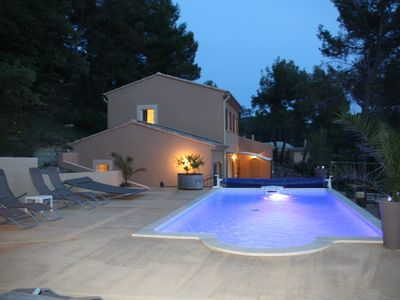 Photo for Recent house welcoming 8-10 people, private swimming pool, calm and intimacy