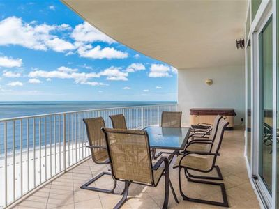 Photo for Turquoise Place - 3 BR Gulf Front Condo - Private Hot Tub