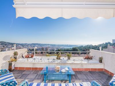 Photo for Fantastic Casa Pilar for 6 people, with incredible sea view.
