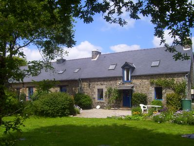 Le Boterff, a peaceful haven set in beautiful gardens.