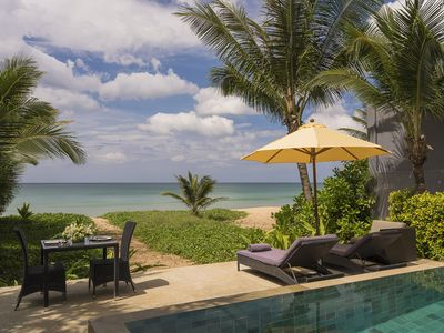 Photo for Infinity Blue Villa, Natai Beach, Phuket