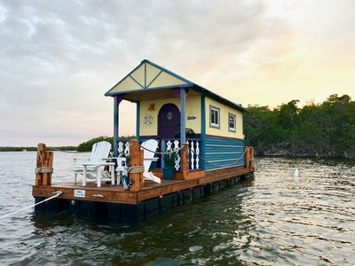 Photo for A Darling Floating Tiny Home At Anchor in the Keys