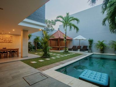 Photo for 4 Bedroom Elegant Villa Central Seminyak