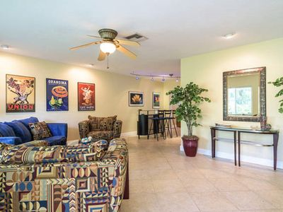 Photo for Pleas'd In Wilton Manors in a Stunning Tropical Pool Home 4 Bedroom 3 Bath