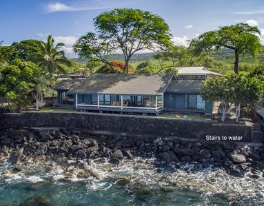 "Photo for ""Hale Lula o' Nai'a"" BEAUTIFUL OCEANFRONT Home w/ AC & Wifi!"