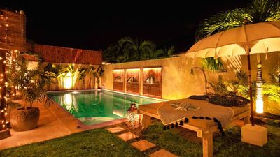 Photo for Villa Sarong 2 luxury and minutes from best Bali beach clubs