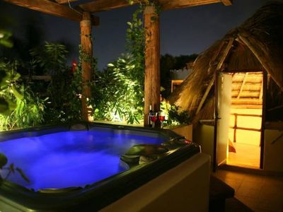 Photo for Romantic with private jacuzzi unbeatable location in Playa del Carmen