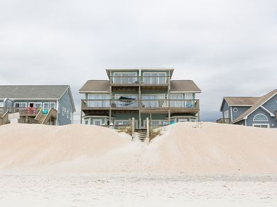 Photo for Two Summer Weeks Still Avail: Beautiful 5 BR/3BA Beachfront Home
