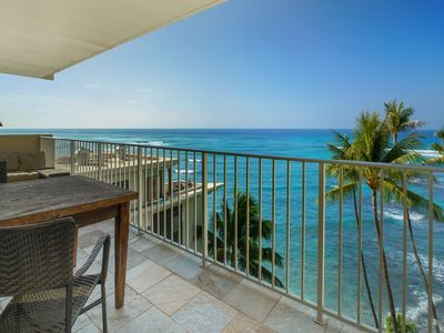 Photo for Gorgeous Over the Ocean Lanai - 1 Bedroom, Full Kitchen