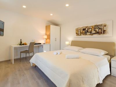 Photo for Luxury bedroom in the heart of Split with balcony, flat-screen TV, airco and wifi