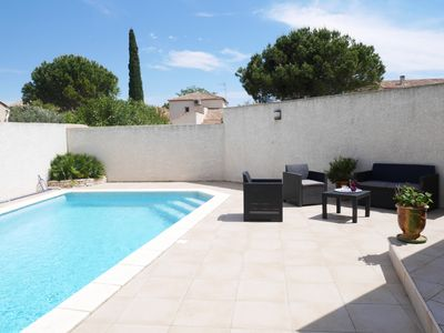 Photo for Villa with pool situated between Montpellier and the sea