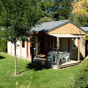 Photo for Holiday village Le Hameau Saint-Martial - Comfort Chalet 3 Rooms 5 People
