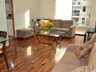 Photo for Big Apartment w/ balcony in Jose Gonzales - Miraflores