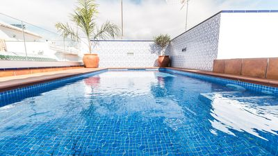 Photo for Unique house in a unique location in the centre of Nerja