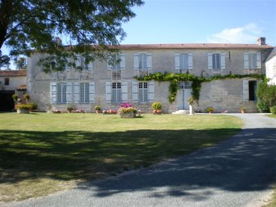 Photo for Spacious house in the Domaine de la Touche 30 km from the sea for 18 people