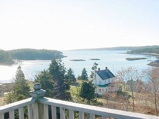 View from the widows deck