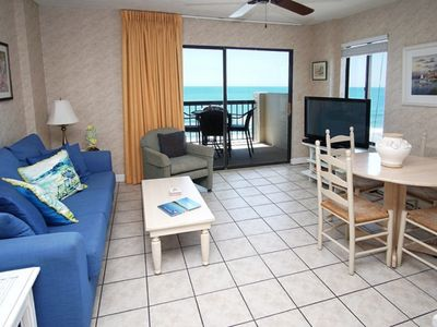 Photo for Crescent Towers I 704 Great 2 Bedroom Condo With Direct Oceanfront Balcony
