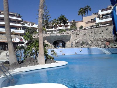 Photo for Romantic Ocean garden -> golf apartament with free parking ,heated pools