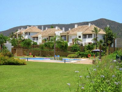 Photo for Adjoined holiday home is located on the 5 star La Cala Golf Resort