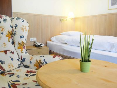 Photo for Single Room with Balcony - Forest Apartments & Rooms