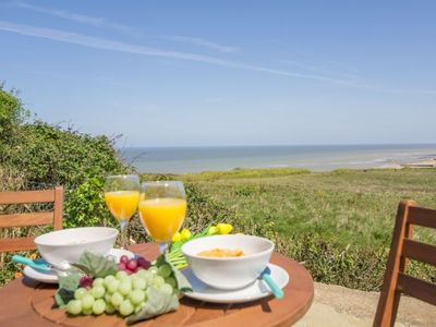Photo for A fantastic, secluded coastal hideaway, with amazing views of the Norfolk coast.
