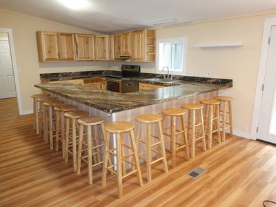 Photo for Completely remodeled 5 bedroom 2 and a half bath walking distance from Lake.