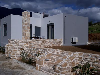 Photo for Vast view of landscape and sea, wifi, 4 pers. | holiday home Triopetra, Crete