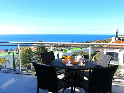 Photo for Paradisus Pearl - New Modern Apartment with Shared Swimming Pool & Sea Views