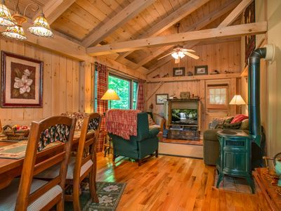 Photo for Timberframe cabin in Connestee Falls, Pet Friendly