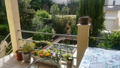 Photo for House 4/5 pers. in the city center with garden + parking