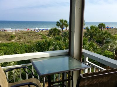 Photo for Breakers Direct Oceanfront - Best Ocean View on the Island!