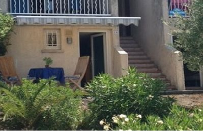 Photo for Studio 2 people, WiFi, air conditioning, 3 pools, tennis court, TV