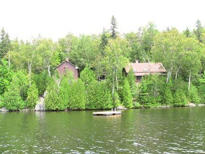 Photo for Privacy, Privacy, Privacy - 450 feet of private waterfront on Rangeley Lake