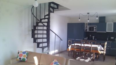Photo for The house of La Digue, 2 bedrooms with terrace and parking