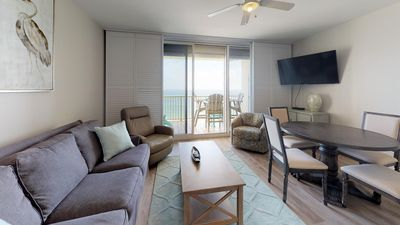 Photo for Sounds Of The Beach Will Call You To This Updated 1-Bedroom Condo! Doral 1402