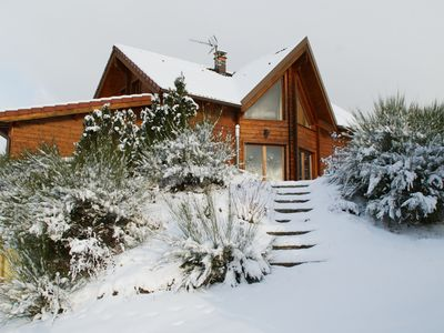 Photo for Chalet Loma, spacious log chalet, at the foot of the Vosges Massif