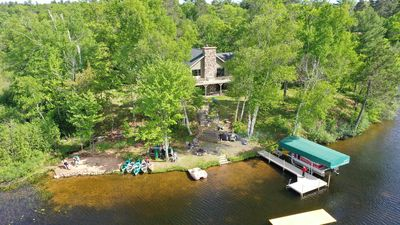 Photo for Stunning 180 degree views from Gresham Retreat's 520 ft of private lakefront